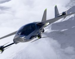 A simulation of AIR ONE in flight. (Courtesy of AIR)